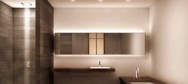Illuminazione bagno come illuminare il bagno thunderroad - Illuminazione per bagno ...